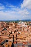 Siena, Italië Stock Foto