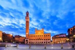 Siena, Italia Fotografia Stock