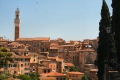 Siena, Italia Fotografie Stock Libere da Diritti