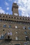 SIENA, ITALIA - 7 SETTEMBRE 2016 Square Piazza del Campo con la m. fotografia stock