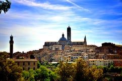 Siena, Italian destination Stock Images