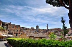 Siena, Italian destination Royalty Free Stock Photography