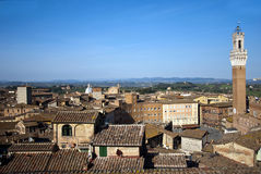 Siena - Italien stockfoto