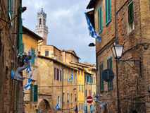 Siena Italien Arkivbilder
