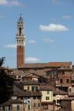 Siena, Italien stockbild