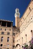 Siena Italy Campanile View Foto de archivo libre de regalías