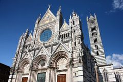 Siena Italy Cathedral Stock Image