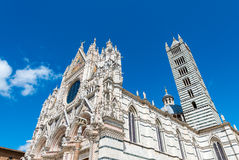 Siena, Italy. City medieval dome Royalty Free Stock Photos