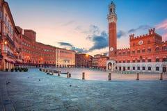 Siena, Italy. Royalty Free Stock Image