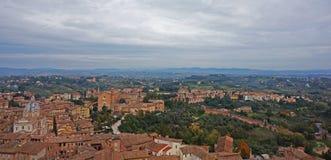 Siena Italy Overview Stock Photos
