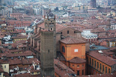 Siena Italy Overview Royalty Free Stock Images