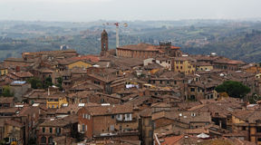 Siena Italy Overview Stock Image