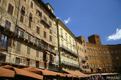 Siena, Italy Piazza Del campo royalty free stock photography