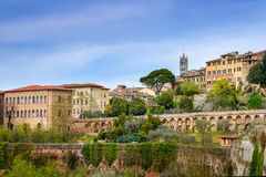 Siena сityscape Stock Photography