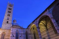 Siena katedra w Włochy Obraz Royalty Free