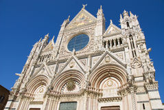 Siena kathedraal Stock Foto's