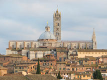 Siena, Kathedraal Stock Afbeeldingen