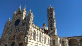 Siena Kathedraal, Italië stock afbeeldingen