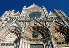 Siena-Kathedrale lizenzfreies stockfoto