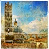 Siena-Kathedrale lizenzfreie stockfotos