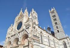 Siena-Kathedrale Stockfotografie