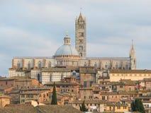 Siena, Kathedrale Stockbilder
