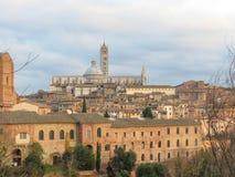 Siena, Kathedrale Lizenzfreies Stockbild