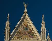 Siena-Kathedrale in Italien lizenzfreie stockfotos