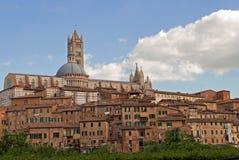 Siena, Koepel Stock Foto