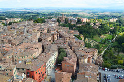 Siena landscape Royalty Free Stock Photography