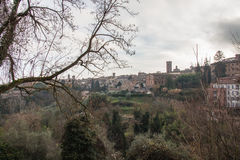 Siena landscape. Tuscany, Italy. Royalty Free Stock Photos