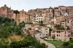 Siena miasto Obrazy Royalty Free