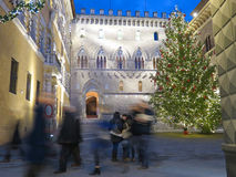 Siena Monte dei Paschi Royaltyfria Bilder