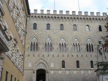 Siena, Monte dei Paschi Stock Photos