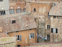 Siena neighbourhood Royalty Free Stock Photos