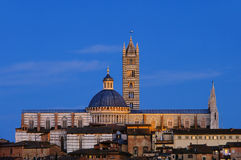 Siena night Royalty Free Stock Photos