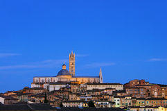 Siena night Royalty Free Stock Photo