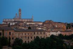Siena by night Royalty Free Stock Photo