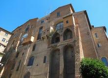 Siena, Ospedale-Di Santa Maria della Scala Royalty-vrije Stock Fotografie
