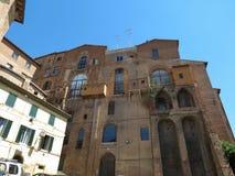 Siena, Ospedale di Santa Maria della Scala Stock Photos