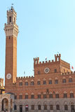 Siena - Palazzo Pubblico Royalty Free Stock Photography
