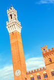Siena, Palazzo Pubblico, Italy Royalty Free Stock Photography
