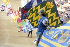 Siena paliopaardenkoers Stock Afbeeldingen
