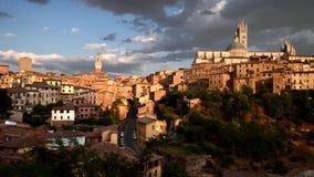 Siena panorama. Great panorama of siena, Tuscany stock video footage