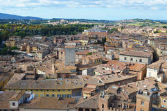 Siena panorama Royalty Free Stock Photo