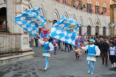 Siena parade Royalty Free Stock Photo