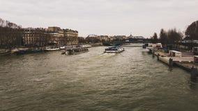 Siena Paris River royalty-vrije stock afbeelding