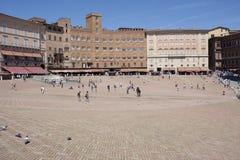 Siena Piazza del Campo Royalty Free Stock Photos