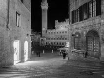 Siena, Piazza Del Campo Zdjęcie Stock
