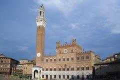 Siena - Piazza del Campo Royalty-vrije Stock Foto